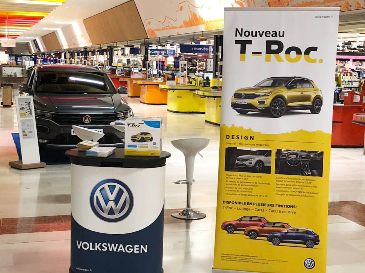 le nouveau t roc s expose volkswagen aix en provence. Black Bedroom Furniture Sets. Home Design Ideas