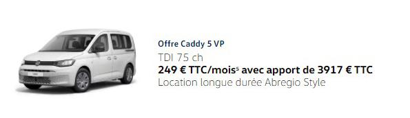 Caddy 75ch