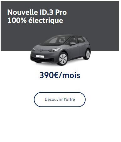 ID.3 Pure Performance 100% électrique